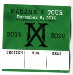 MADAME X TOUR - PHILADELPHIA SEAT RESERVATION TICKET